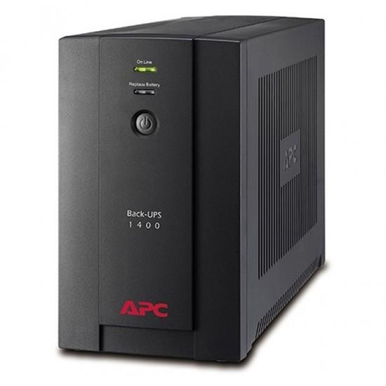 APC UPS 1400VA Back-Ups Line Interactive (BX1400UI) (APCBX1400UI)