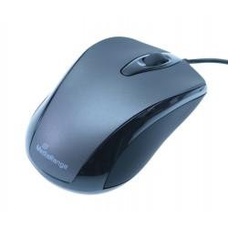 MediaRange Optical Mouse (Black/Grey, Wired) (MROS201)