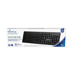 MediaRange Multimedia Keyboard, Wireless (Black) (MROS111-GR)